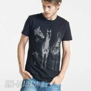 HORSE ANATOMY T-shirt Męski, męski