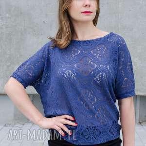Bawełniana koronkwa bluzka bluzki non tess ażurowa, bawełniana