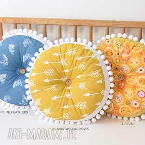 Poduszka dla dziecka, poduszka, poducha, okrągła-poduszka, poduszka-dla-dziecka, puf