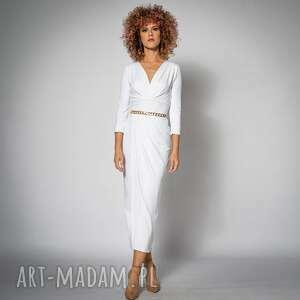 sukienki star white - elegancka sukienka ślubna, sukienka, suknia