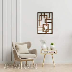obraz z drewna, dekoracja ścienna /30 - rotterdam/