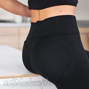 kobiece seksowne czarne bawełniane legginsy getry push up s, legginsy, damskie