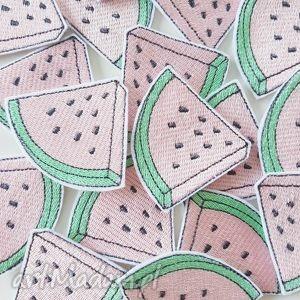 naszywka arbuzik, arbuz, watermelon, naszywka, jeans, katana, pod