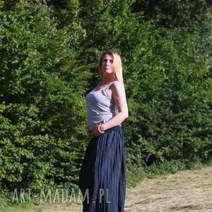spódnice kreszowana maxi spódnica, spódnica boho, folk, etno