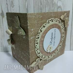 wyjątkowy prezent, etui - brązowe motyle, etui, cd, zdjęcie, motyl