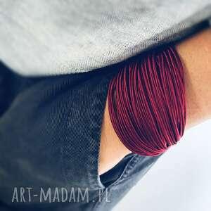 bransoletka alicja, elegancka bransoletka, sznurkowa jedwabne
