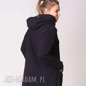 Bluza damska na zamek czarna bluzy trzyforu fashion, wygoda