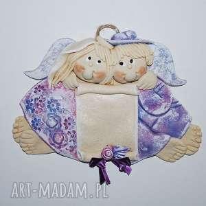 ślub to dla nas aniołki ślubne lub jubileuszowe, anioły, dekoracja, prezent