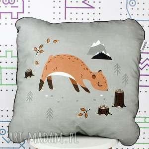 Poduszka Wild One Sarenka 46x46, poduszka, dekoracyjna, jasiek, wyprawka, pokój