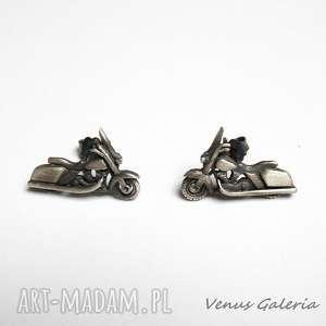 venus galeria motory - kolczyki srebrne, srebro, kolczyki, motory, oksyda