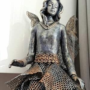 prezent na święta, anioł baletnica, stróż, figura anioła, baletnica
