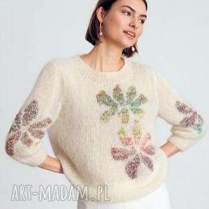 dziane sweter montpellier 42-46, setwr, jedwabny, moherowy, kobiecy, elegancki