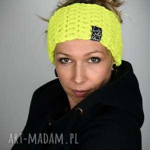 opaski opaska mono 24 - żółty fluo, prezent, sportowa, rower, snowboard, wygodna