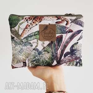 kosmetyczki saszetka wild jungle #lesswaste, kosmetyczka, saszetka, etui