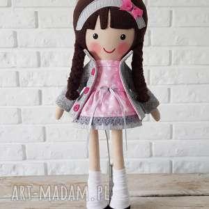 malowana lala aurelia, lalka na prezent, przytulanka dla dziecka, niespodzianka