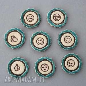 Emotikony-magnesy ceramika magnesy kopalnia ciepla emotikony