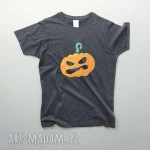 koszulki halloween metallic pumpkin koszulka męska, koszulka, meska, dynia
