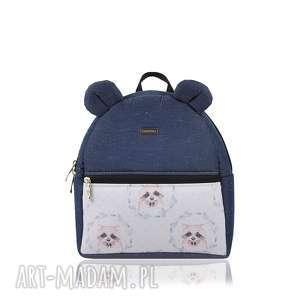 plecaczek farbiś 1925 r s, plecak, plecak dziecięcy, farbiś, z uszami