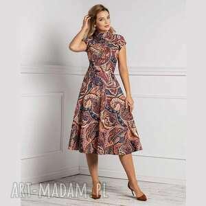 sukienki sukienka sari total midi ginerwa