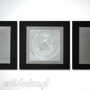 obraz minimalistyczny nowoczesny 24 - 150x50cm rĘcznie malowany - obraz, nowoczesny