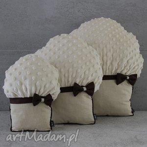 poduszki muffinki - muffinki, mufinki, poduszki, przytulanki, minky, czekoladowe