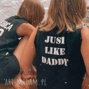 hand-made tshirt dziecięcy bez rękawów