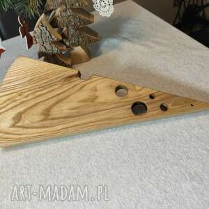 Deska do serów z drewna jesionu dom woodprojekt deska, ser