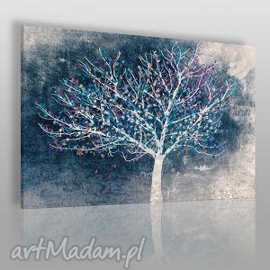 handmade obrazy obraz na płótnie - drzewo liście - 120x80 cm (30602)