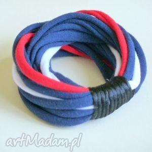 ręczne wykonanie bransoletka marynarska