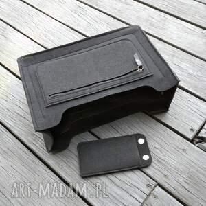 organizer lux do torebki - czarny, torebki, filcowy organizer
