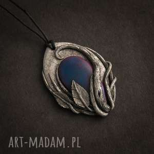 handmade wisiorki elficki wisior inspirowany naturą