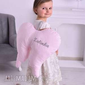 ręcznie wykonane dla dziecka skrzydła anioła duże z imieniem