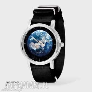 Prezent Zegarek, bransoletka - Ziemia czarny, nato, zegarek, bransoletka, nato