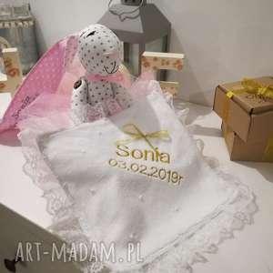 hand-made zabawki pamiątka chrztu świętego i szatka