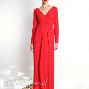 milita nikonorov steffany maxi / kolory - długa suknia rozm 34 44, jersey