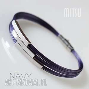 hand made navy