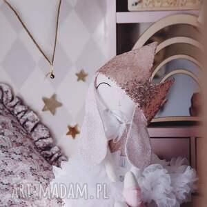 handmade maskotki oliwia króliczek baletnica