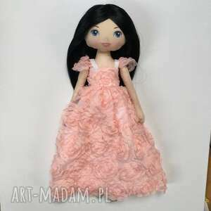 laleczka - księżniczka w sukni balowej, lalka, laleczka, księżniczka, bawełniana