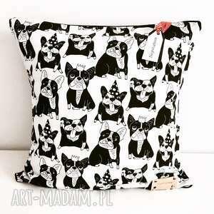 poduszki poduszka dekoracyjna french bulldog, poduszka, dekoracyjna, buldożek