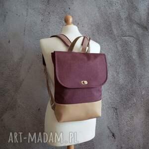 ręcznie zrobione damski plecak