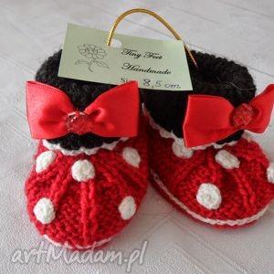 Buciki niemowlęce - myszka miki tiny feet buciki,