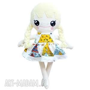 lalki bawełniana lalka lalalila - poofy cat, lalka, lala, laleczka, blond