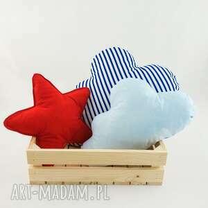 hand-made pokoik dziecka zestaw 3 poduch marynarski