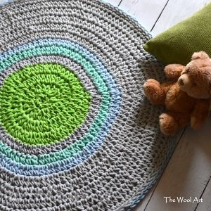 Bawełniany dywan pokoik dziecka the wool art dom, dla dziecka