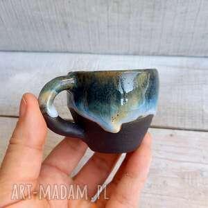 Kubeczek nigra niebieski 70 ml, espresso kubki kmdeka ceramiczny