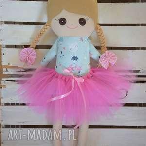 Szmaciana laleczka z personalizacją, szmaciana, szmacianka, szyta, lalka, przytulanka