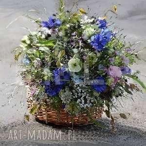 wyjątkowy prezent, koszyk z kwiatami, kwiaty, bukiet, koszyk, obraz, natura