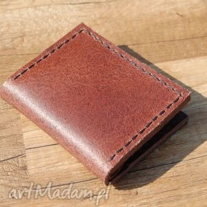 marmurkowy skórzany portfel z możliwością personalizacji, portfel, skóra