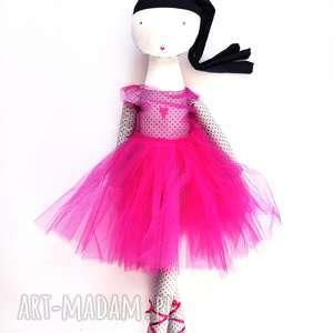 Lila Róż. Roztańczona, szmacianka, balet, taniec, tutu, baletnica, eko
