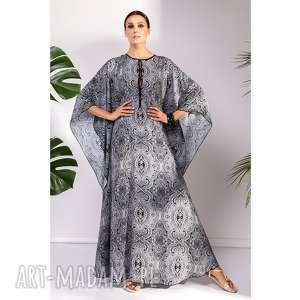 Sukienka vimbai sukienki pawel kuzik moda, orientalna